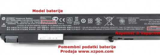 Original HP baterija
