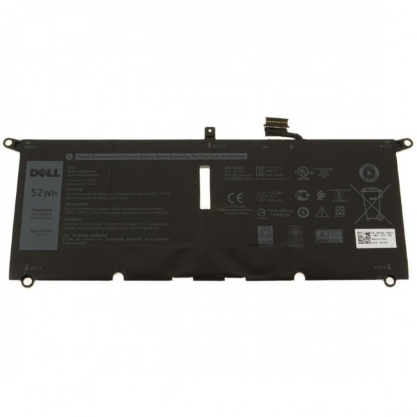 Original baterija Dell DXGH8, XPS 13, 9380, 9370, ...