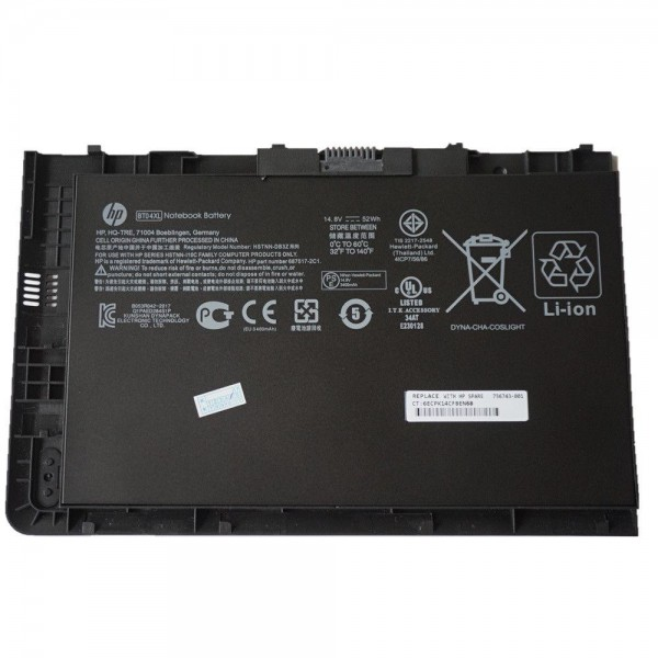 Original baterija HP BT04XL, EliteBook Folio 9470,...
