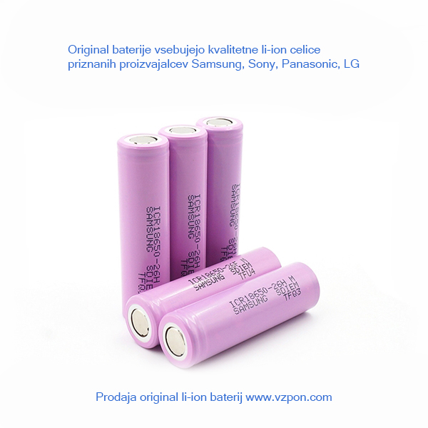 Original baterija Dell J1KND, 13R, N3010, N3010, 14R, N4010, N4010D, 15R, N5010, N5010D, 17R, N7010, N7110, N7010D, N4050, N4110, N5020, N5030, N5030D, N5050, N5110 ...