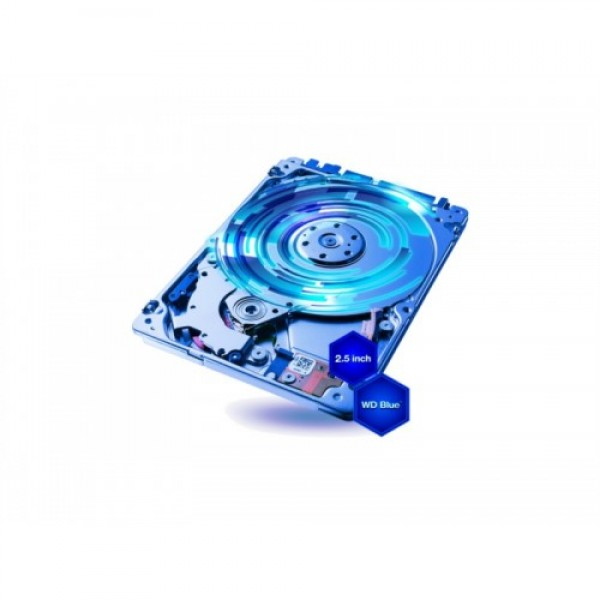 Trdi disk za prenosnik 1 TB, WD Blue, velikost 2.5...