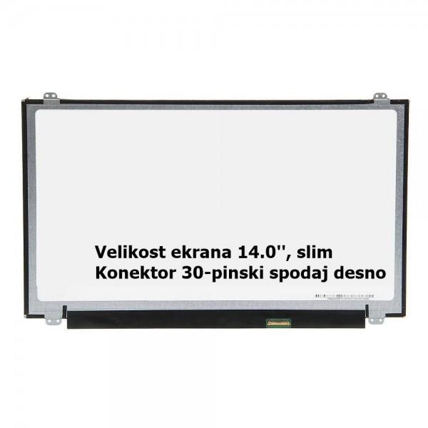 Ekran za prenosnik 14.0'' LED FHD 30-pin, slim, ma...