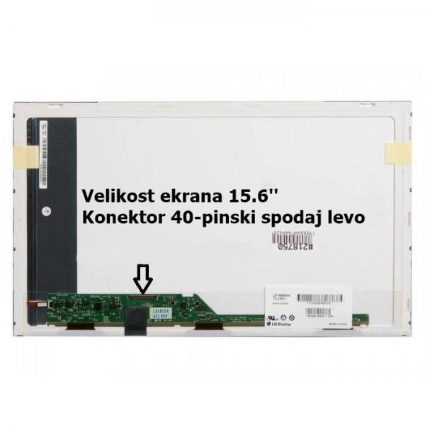 Ekran za prenosnik 15.6'' LED FHD 40-pin, sijaj, D...