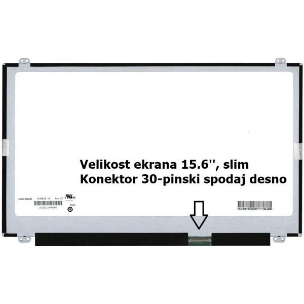 Ekran za prenosnik 15.6'' LED FHD 30-pin, slim, ma...