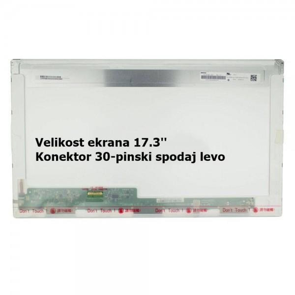 Ekran za prenosnik 17.3'' LED HD+ 30-pin, mat, DEL...
