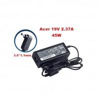 Original polnilec Acer 45W 19V 2.37A 3.0×1.1mm, A...